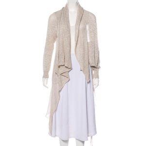 Lafayette 148 Tonal Knit Cardigan